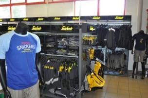 Snickers Workwear Flagstore bei Praetner in Freising
