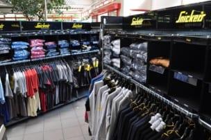 Arbeitsschutz Shirts im Snickers Workwear Flagstore bei Praetner in Freising