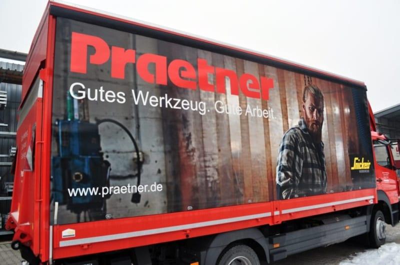 Fuhrpakr LKW Praetner