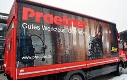 Neuer Praetner LKW