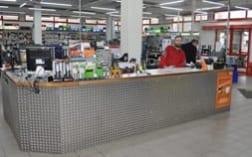 neue Theke | Praetner Verkaufsräume