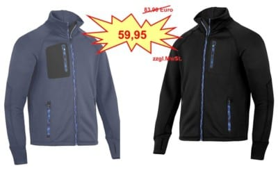 Snickers FlexiWork Strech-Fleece Jacke