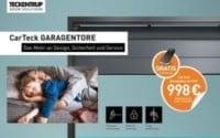 CarTeck-Garagentor Aktionspakete