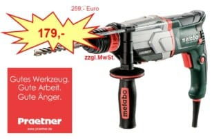 Metabo Kombihammer KHE-2860-Quick-Limited-Edition