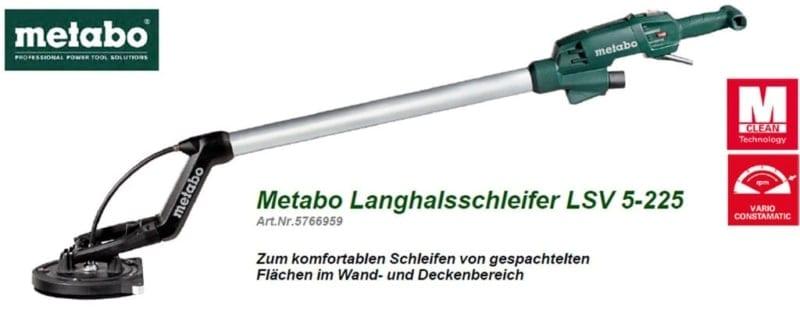 Metabo-Langschleifer-LSV5-225