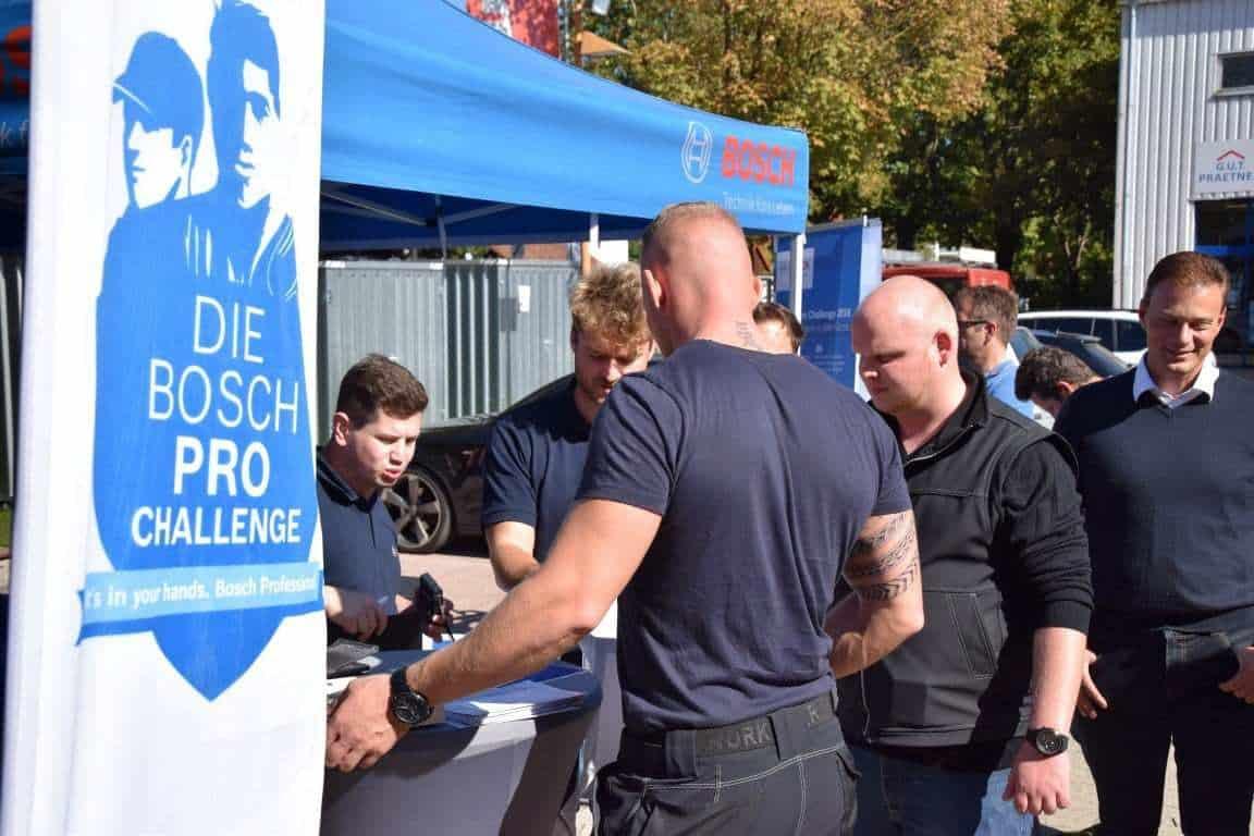 Bosch Pro Challenge - Publikum